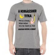 Horgász siker - Tréfás póló