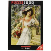 Anatolian/Perre Group Ana.3170 - Puzzle - The flower girl, 1000 Piezas)