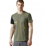 Reebok One Series Activ Chill Breeze Top T-Shirt Herren