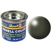 Revell 32361 RAL 6003 - Bote de pintura (14 ml), color aceituna oscuro satinado mate