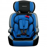 "XOMAX ""Auto Kindersitz / Sitzerh�hung (Blau/Schwarz/Grau) f�r Kinder von 9 - 36 kg (Klasse I, II, III)"""