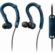 Casti cu Microfon Philips ActionFit NoLimits SHQ3405BL00 Albastre