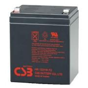 Batería para UPS-SAI 12v 5Ah plomo HR1221W