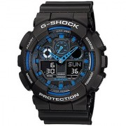 G-Shock Analog-Digital Blue Dial Mens Watch - GA-100-1A2DR (G271)
