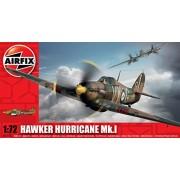 AIRFIX Kit Serei 1 Modellino Aereo Aircraft Hawker Hurricane MK1 A01010