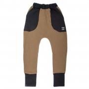 Pantaloni lungi Boots Fleece - maro, 8-10 ani