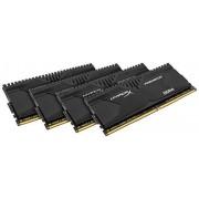 Kingston HyperX Predator HX428C14PBK4/32, 32GB, Kit (4x8GB), 2800MHz, DDR4, Non-ECC CL14 DIMM XMP, Compatibili con Skylake
