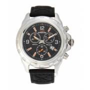 Timex T49985 Silver-Tone Black Watch 6