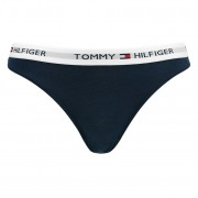 String Dames Iconic Cotton Thong Navy