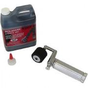 MARSH Fountain Roller Kit with Full 3 Length Roller and 1 qt. Black Rolmark Stencil Ink