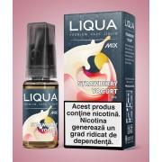 Strawberry Yogurt, Liqua Mix cu nicotină, 10ml