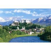 Historic District III-Austria super master EX 2542 super small piece of the puzzle Salzburg town - 75-018 (japan import)