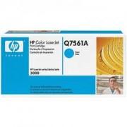 Тонер касета за Hewlett Packard Color LaserJet 3000 Cyan (Q7561A)