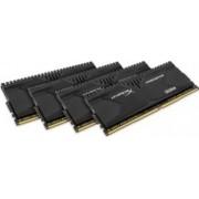 Memorie HyperX Predator 16GB Kit 4x4GB DDR4 2133MHz CL13 Black