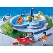 Playmobil 3205 - Piscine Et Famille