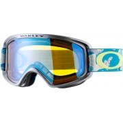Oakley O2 XM Snowboardbrille in gi camo aurora blue/hi yellow iridium, Größe M