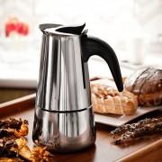 Domotti Kawiarka stalowa ciśnieniowa DOMOTTI VELLA - kafetiera na 6 filiżanek espresso - rabat 10 zł na pierwsze zakupy!