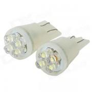 4-LED 12V Vehicle Signal Lights (2-Pack White)