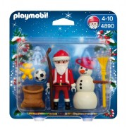 PLAYMOBIL Santa with Claus Snowman