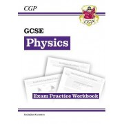 New Grade 9-1 GCSE Physics Exam Practice Workbook (with Answers) by CGP Books