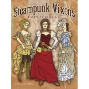 Steampunk Vixens Paper Dolls by Ted Menten