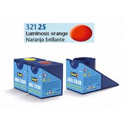 Revell Acrylics (Aqua) - 18ml - Aqua luminous orange mat - RV36125