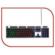 Клавиатура Гарнизон GK-110L Black-White