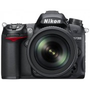 Nikon D7000 16.2MP Digital SLR Camera (Black) with AF-S 18-105mm VR Kit Lens and AF-S DX VR Zoom-NIKKOR 55-200mm f/4-5.6G IF-ED Twin Lens 4GB Card, Camera Bag