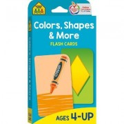 Flash Cards - Colors, Shapes & More by School Zone