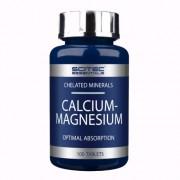 Calcium-Magnesium Scitec® Essentials (100 Un)