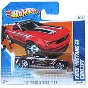 Hot Wheels HW Main Street '11 2/10 Ford Mustang GT Concept on Short Card