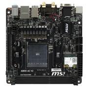 MSI A88XI AC V2 Scheda Madre, Nero