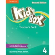 Kid's Box Level 4 Teacher's Book: Level 4 by Lucy Frino