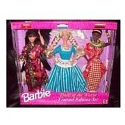 Barbie Dolls of the World Set - Chinese/Dutch/Kenyan Doll