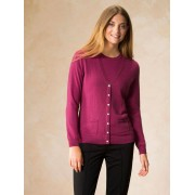 Walbusch Twinset Wolle/Cashmere Rosa 46