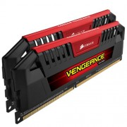 Corsair CMY16GX3M2A1600C9R Vengeance Pro Series Memoria per Desktop a Elevate Prestazioni da 16 GB (2x8 GB), DDR3, 1600 MHz, CL9, con Supporto XMP, Rosso
