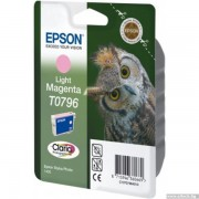 EPSON Light Magenta Inkjet Cartridge for Stylus Photo R1400/ P50 (C13T07964010)
