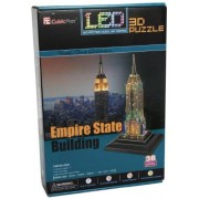 Empire State 3D Puzzle with Base & Lights