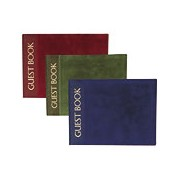 Luxury Cover with Gold Foil Print Guest Book