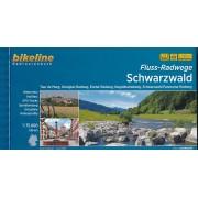 Fietsgids Bikeline Fluss-Radwege Schwarzwald - Zwarte Woud   Esterbauer