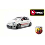 Modellino auto Bburago street fire FIAT 500 ABARTH macchinina da collezione scala 1: 43
