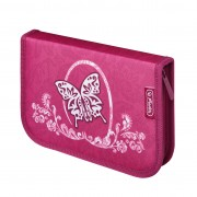 Penar echipat 31 piese dimensiune 20,3x14x3,5cm, motiv EX Rose Butterfly