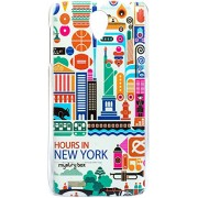Purple Eyes Exclusive Designer Printed Back Cover for Lenovo S650 (Hrs in NYC)