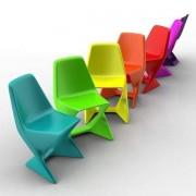 La Chaise ISO, toute légère, va promener ses formes sur nos terrasses cet été ! - déco et design