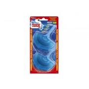 Odorizant wc Duck Aqua Blu aparat dublu 2 x 40 gr