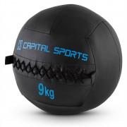 Capital Sports Epitomer Set Wall Ball 9kg 5 Pezzi Nero