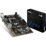 Placa de baza MSI H81M-P33 Plus Socket 1150