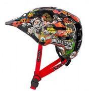 O'Neal Defender Crank Casco de Bicicleta, Multicolor, L (59-61 cm)