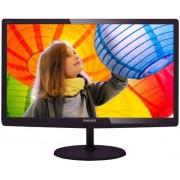 "Monitor LED Philips 21,5"" 227E6LDSD/00, Full HD (1920 x 1080), MHL-HDMI, VGA, DVI, 1 ms (Negru) + Ventilator de birou Esperanza EA149K, USB, 2.5W (Negru)"