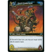 World of Warcraft Hunt for Illidan Single Card Lord Cindervein #132 Common [Toy]